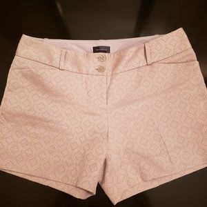 The Limited creamy tan shorts in size 8